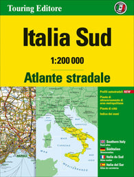 Buy map Italy, Southern Road Atlas by Touring Club Italiano
