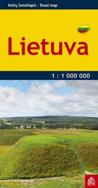 Buy map Lithuania, Pocket Road Map by Jana Seta
