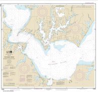 Buy map Patuxent River Solomons lsland and Vicinity (12284-17) by NOAA
