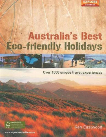 Buy map Australias Best Eco-friendly Holidays by Universal Publishers Pty Ltd