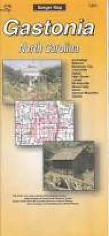 Buy map Gastonia, North Carolina by The Seeger Map Company Inc.