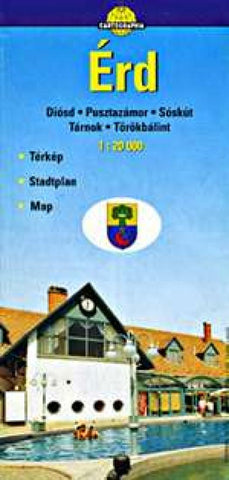 Buy map Erd, Hungary by Cartographia
