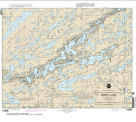 Buy map Knife Lake (14986-9) by NOAA