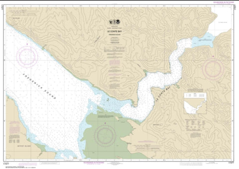 Buy map Le Conte Bay (17377-2) by NOAA