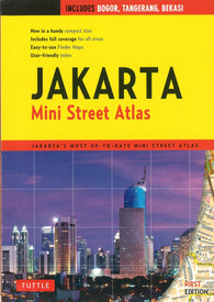 Buy map Jakarta, Indonesia, Mini Street Atlas by Tuttle publishing