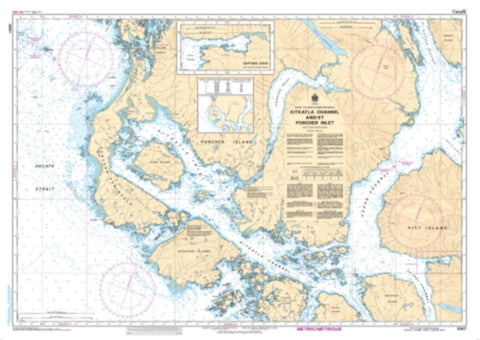 Buy map Kitkatla Channel and/et Porcher Inlet by Canadian Hydrographic Service