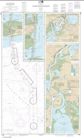 Buy map Calcasieu River and Approaches (11339-4) by NOAA