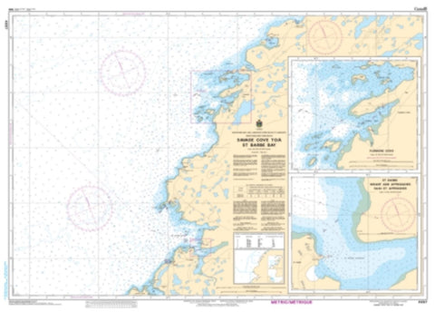 Buy map Savage Cove to/a St. Barbe Bay by Canadian Hydrographic Service