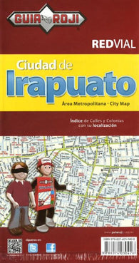 Buy map Irapuato, Mexico by Guia Roji