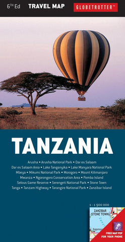 Buy map Tanzania, Travel Map by New Holland Publishers