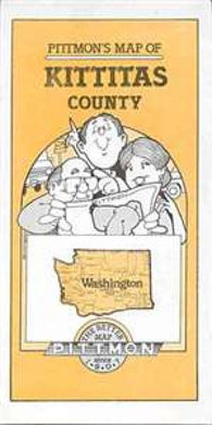 Buy map Kittitas County, Washington by Pittmon Map Company