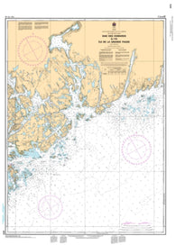 Buy map Baie des Homards a/to Ile de la Grande Passe by Canadian Hydrographic Service