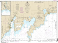 Buy map Dutch Johns Point to Fishery Point, including Big Bay de Noc and Little Bay de Noc; Manistique (14908-18) by NOAA