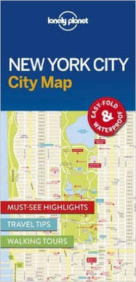 Buy map New York City Map by Lonely Planet Publications