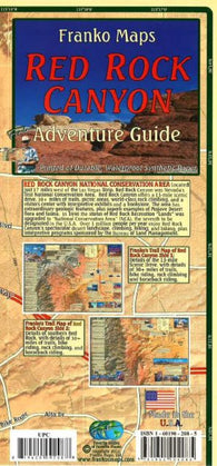 Buy map Frankos Map of Red Rock Canyon by Frankos Maps Ltd.