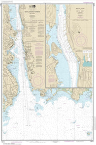 Buy map New London Harbor and vicinity; Bailey Point to Smith Cove (13213-43) by NOAA