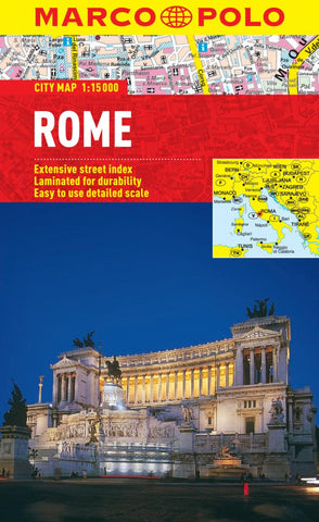 Buy map Rome, Italy by Marco Polo Travel Publishing Ltd