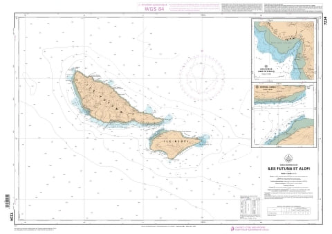 Buy map Iles Futuna et Alofl by SHOM