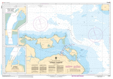 Buy map Caribou Harbour by Canadian Hydrographic Service