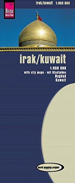 Buy map Iraq and Kuwait by Reise Know-How Verlag
