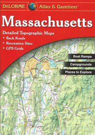 Buy map Massachusetts Atlas and Gazetteer by DeLorme
