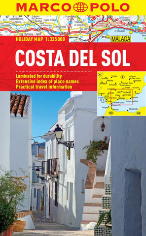 Buy map Costa Del Sol, Spain by Marco Polo Travel Publishing Ltd