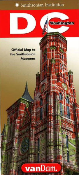 Buy map Smithsonian DC StreetSmart by VanDam