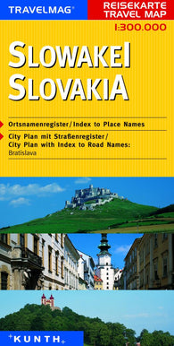 Buy map Slovakia by Kunth Verlag
