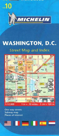 Buy map Washington, DC (10) by Michelin Maps and Guides