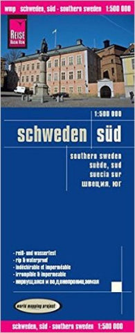 Buy map Sweden, Southern by Reise Know-How Verlag