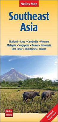 Buy map Southeast Asia including Taiwan by Nelles Verlag GmbH