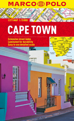 Buy map Cape Town, South Africa by Marco Polo Travel Publishing Ltd