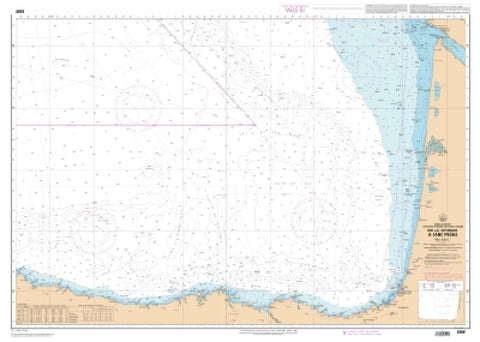 Buy map De la Gironde a Cabo Penas (Zonex - Region maritime Atlantique) by SHOM
