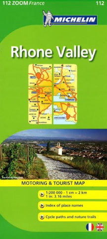 Buy map Rhone Valley (112) by Michelin Maps and Guides