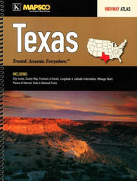 Buy map Texas, Highway Atlas by Kappa Map Group