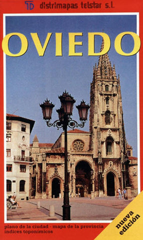 Buy map Oviedo, Spain by Distrimapas Telstar, S.L.
