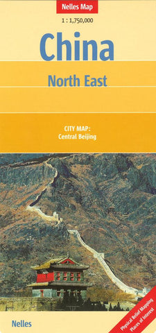 Buy map China, Northeast by Nelles Verlag GmbH
