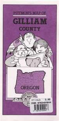 Buy map Gilliam County, Oregon by Pittmon Map Company