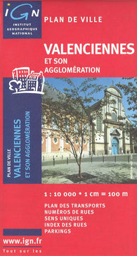 Buy map Valenciennes, France by Institut Geographique National