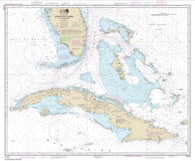 Buy map Straits of Florida and Approaches (11013-48) by NOAA