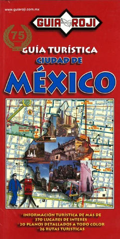 Buy map Mexico, Tourist Guidebook With Atlas (Spanish ed.) by Guia Roji