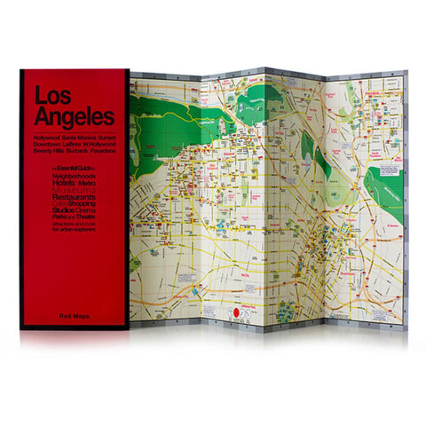 Buy map Los Angeles, California by Red Maps