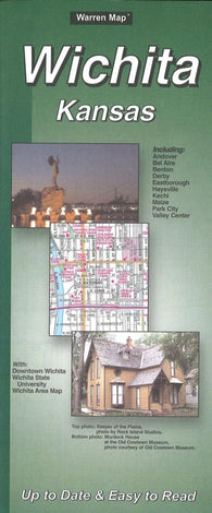Buy map Wichita, Kansas by The Seeger Map Company Inc.