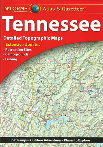 Buy map: Tennessee, Atlas and Gazetteer by DeLorme – YellowMaps Map Delorme Map Store on