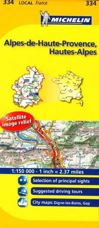 Buy map Alpes De Haute Provence (334) by Michelin Maps and Guides