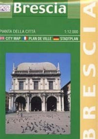 Buy map Brescia, Italy by Litografia Artistica Cartografica