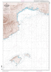 Buy map Des iles Baleares (Islas Baleares) a Marseille by SHOM