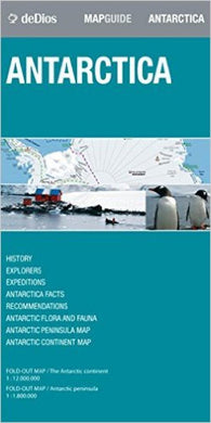 Buy map Antarctica by deDios