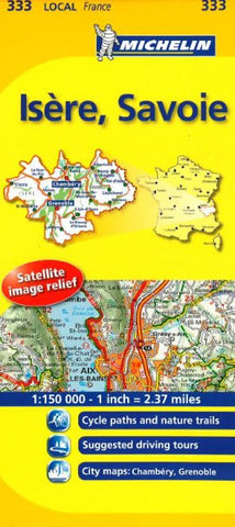Buy map Val dIsre, Savoie (333) by Michelin Maps and Guides