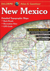Buy map New Mexico, Atlas and Gazetteer by DeLorme
